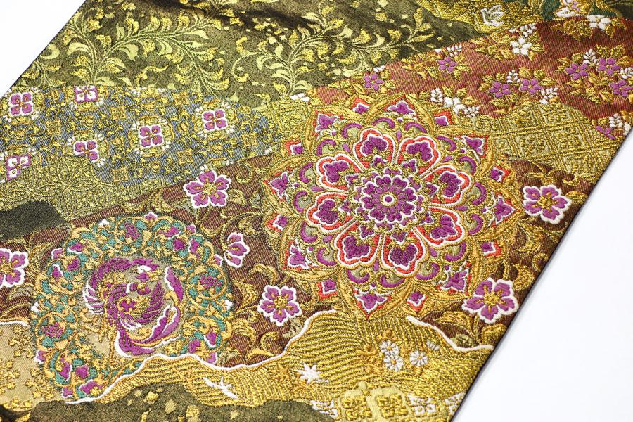じゅらくの帝王紫の袋帯