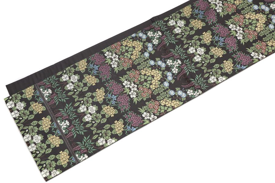 川島織物の唐織の袋帯