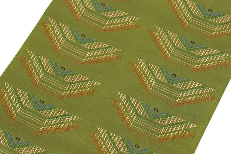 宮平初子の花織の名古屋帯